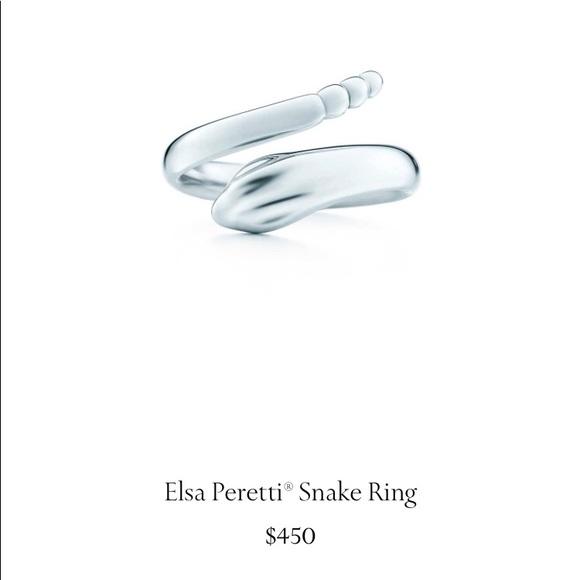 25092ea3a Tiffany & Co. Jewelry | Tiffany Elsa Peretti Snake Ring 556 | Poshmark